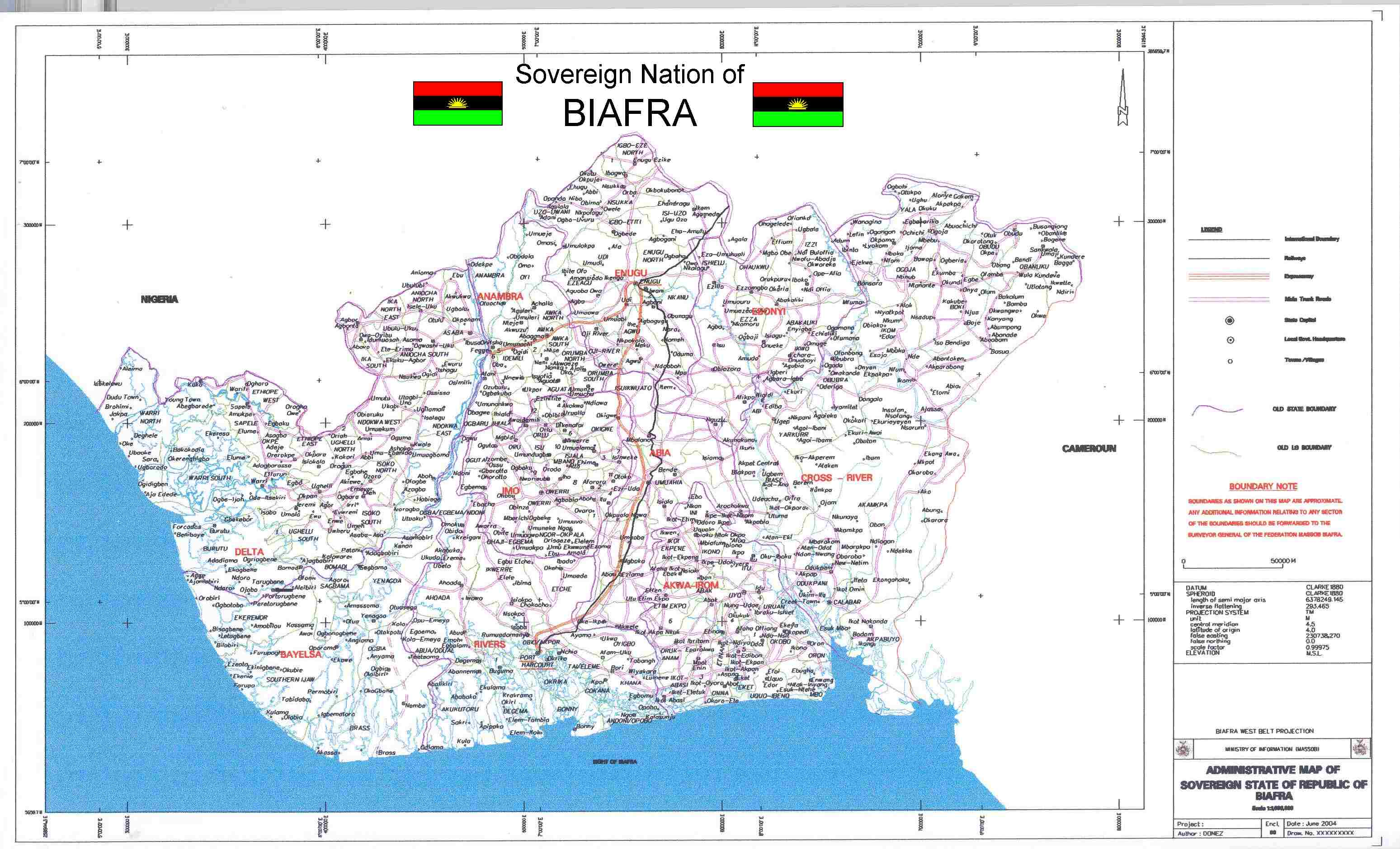 Biafra maps click on format for large size biafra master map thecheapjerseys Image collections